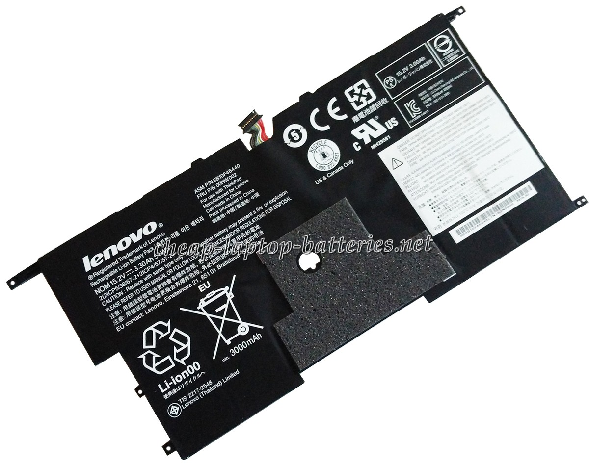 51Wh Lenovo Thinkpad New x1 Carbon 20bta0m400 Laptop Battery