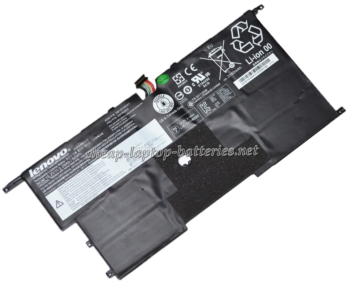 3.29Ah Lenovo Thinkpad New x1 Carbon 20bta0m400 Laptop Battery