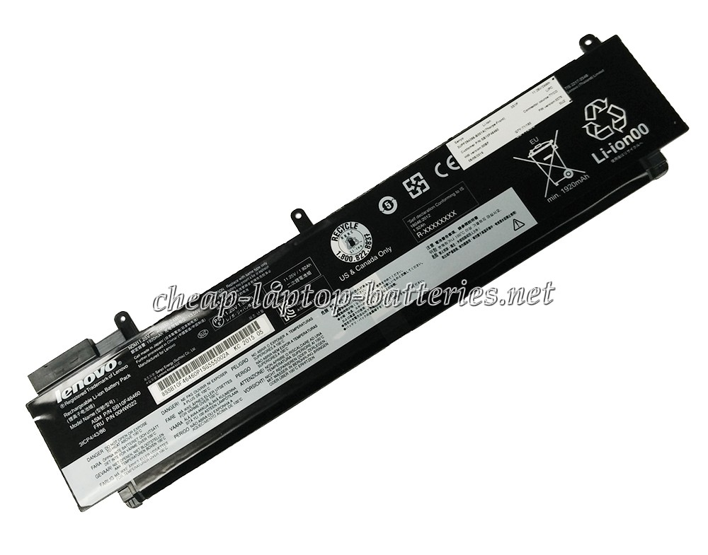 24Wh Lenovo sb10f46460 Laptop Battery