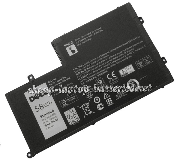 58Wh Dell opd19 Laptop Battery