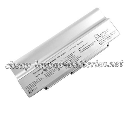 8800mAh Sony Vaio Vgn-cr62b/P Laptop Battery