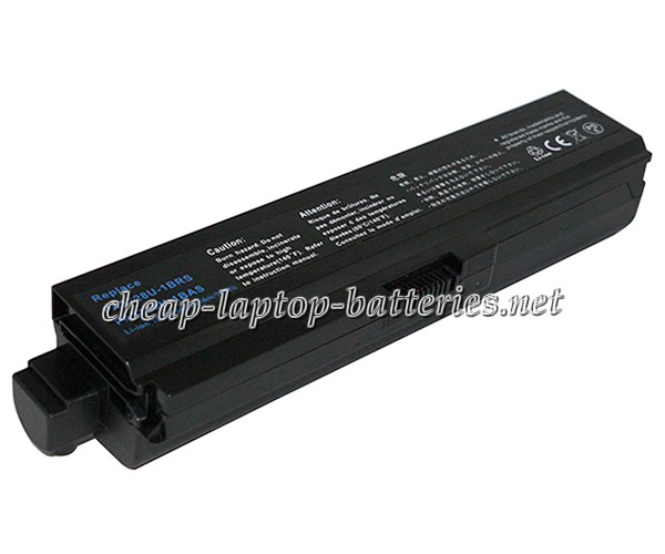 8800mAh Toshiba Satellite a665-s6081 Laptop Battery