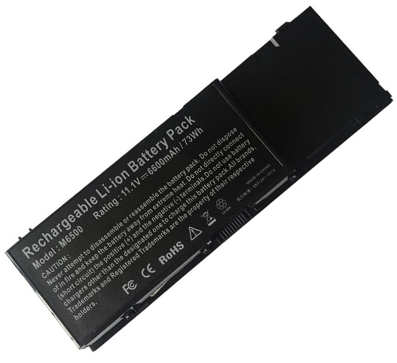 6600mAh Dell Precision m6500n Laptop Battery