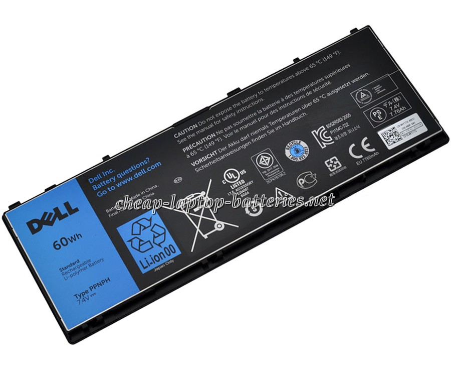 60WH Dell 312-1412 Laptop Battery
