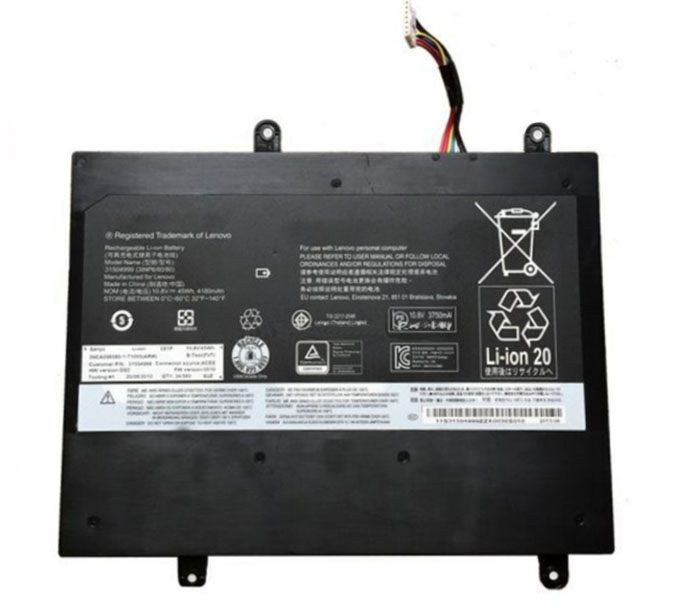 45Wh Lenovo 3inp6/60/80 Laptop Battery