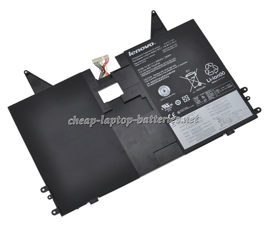 28Wh Lenovo Thinkpad Helix i7-3667u Laptop Battery