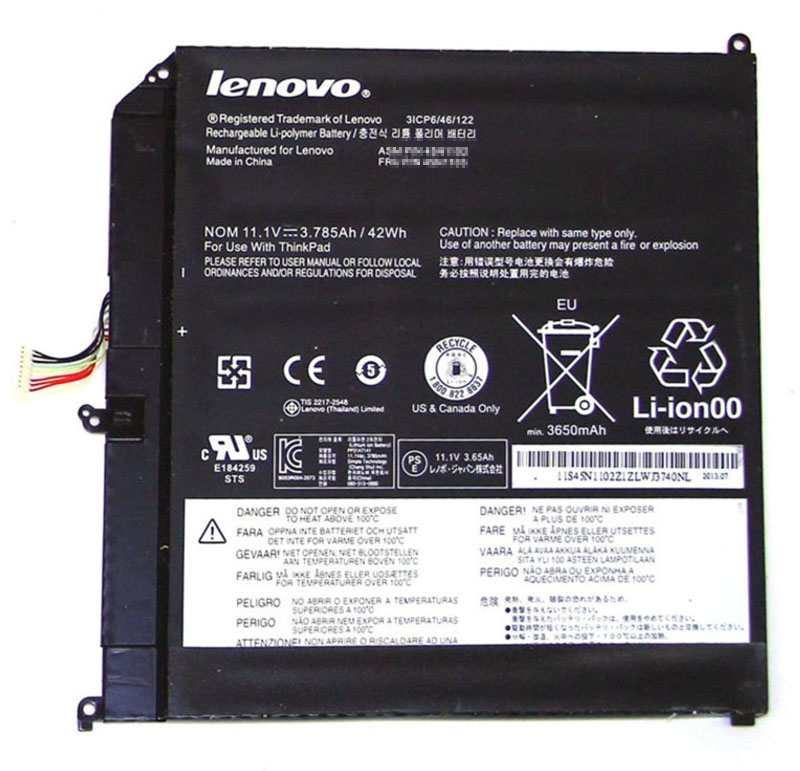 42Wh Lenovo 45n1102 Laptop Battery
