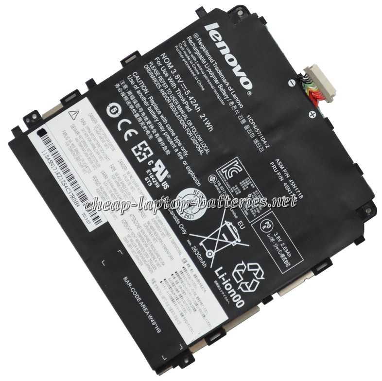 21WH Lenovo Thinkpad Tablet 8 Laptop Battery