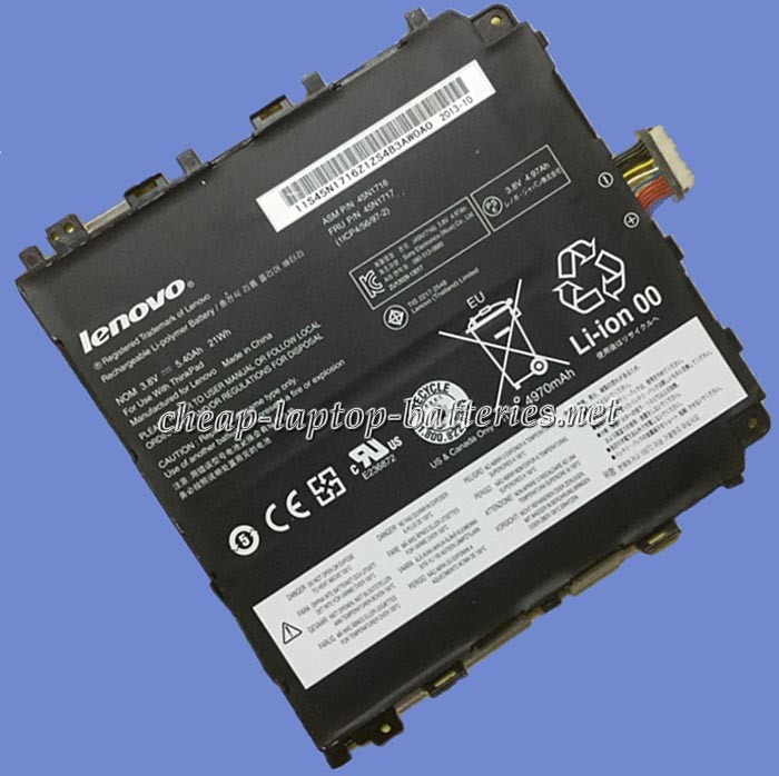 5.4Ah Lenovo 45n1717 Laptop Battery