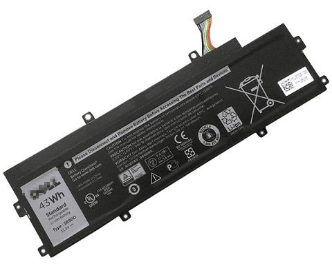 43Wh Dell 05r9dd Laptop Battery