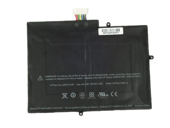 6000mAh Hp Hstnh-s29c-S Laptop Battery