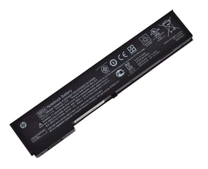 2200mAh Hp Elitebook 2170p Laptop Battery