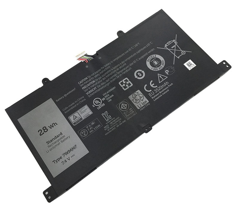 28Wh Dell cp305193l1 Laptop Battery