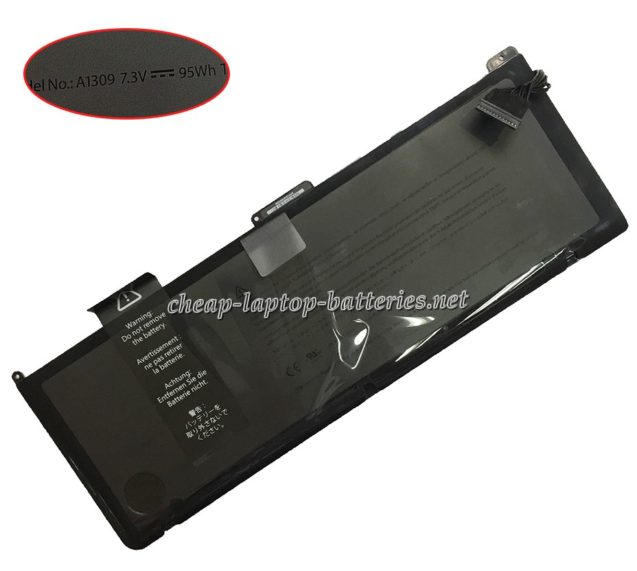 95Wh Apple Macbook Pro 17 Inch mc226zp/A Laptop Battery