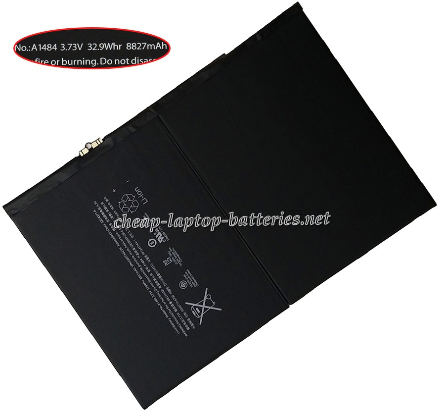 32.9Whr/8827mAh Apple a1475 Laptop Battery