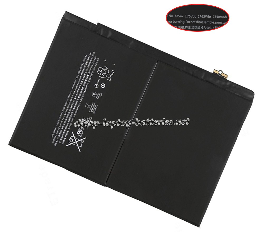 7340mAh/27.62WHr Apple mh2n2ll/A Laptop Battery
