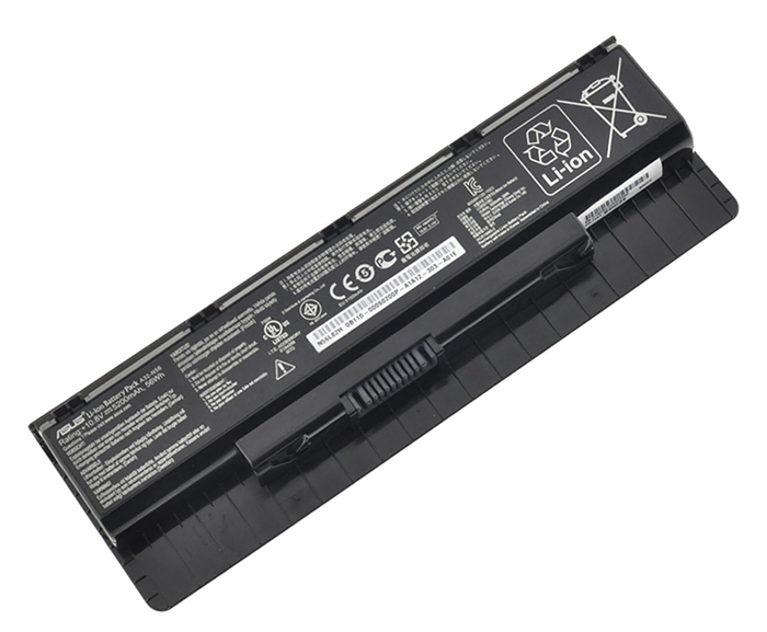5200 mAh Asus n76v Laptop Battery