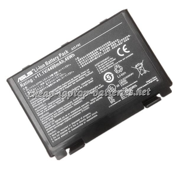 4400mAh Asus x8bvt Laptop Battery