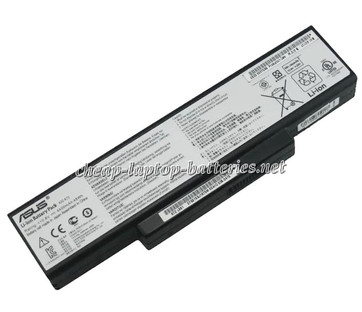 4400mah Asus a73sj Laptop Battery