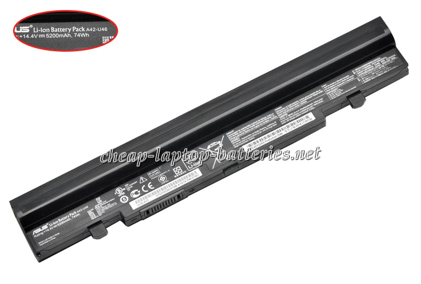 5200mAh Asus u46e-1awx Laptop Battery