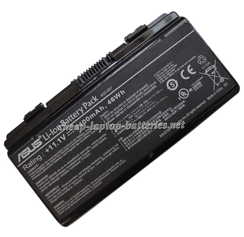 4400mAh Asus pro52l Laptop Battery