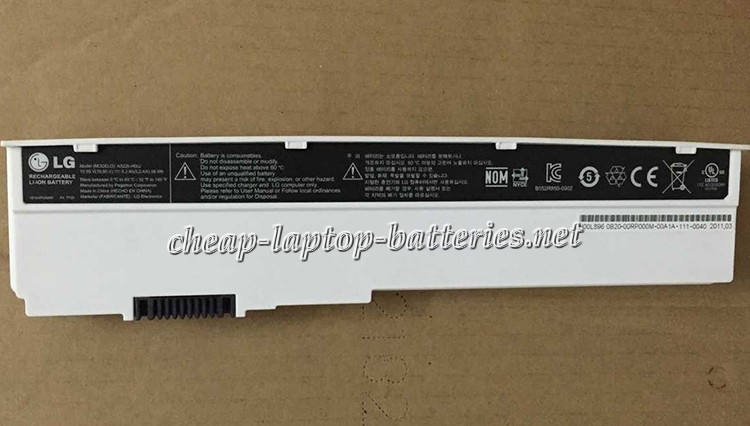 56Wh Lg x200 Series Laptop Battery
