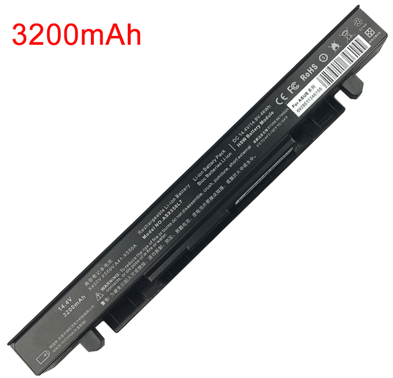 2600mAh Asus p550ca-xo522g Laptop Battery