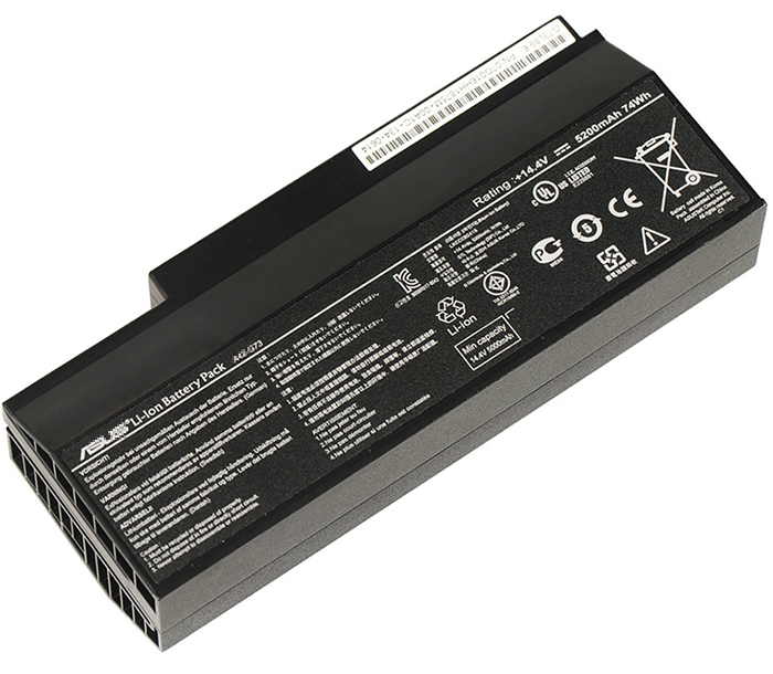 5200mAh Asus g73jw-91093v Laptop Battery