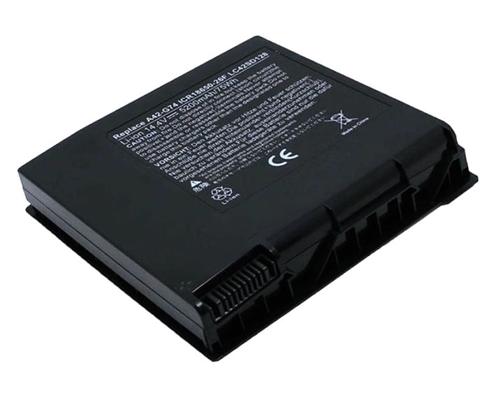 5200mAh Asus g74sx-3de Laptop Battery