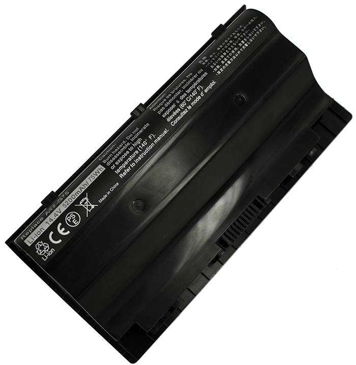 4400mAh Asus g75 3d Laptop Battery