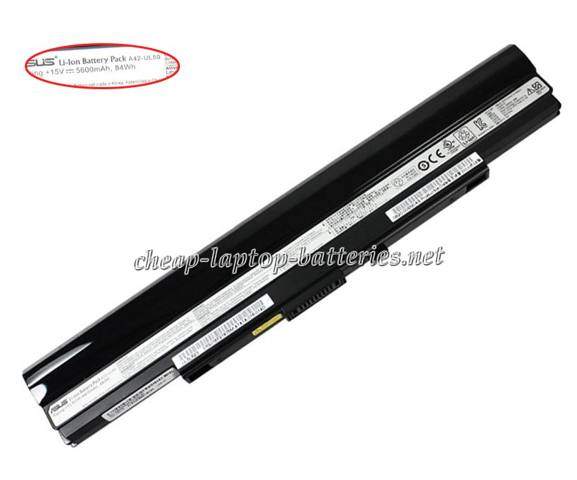 5600mAh Asus ul80 Series Laptop Battery