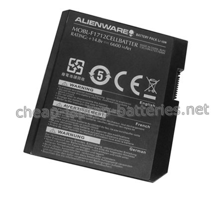 6600mAh Dell Mobl-f1712cellbatter Laptop Battery