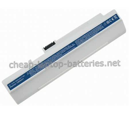 7800mAh Acer a0d250-0bgr Laptop Battery