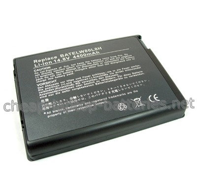 4400mAh Acer batelw80l8h Laptop Battery