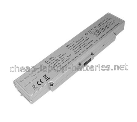 5200mAh Sony Vaio Vgn-fj3s/W Laptop Battery