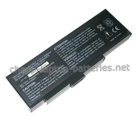 6600mAh Packard Bell 442682840004 Laptop Battery