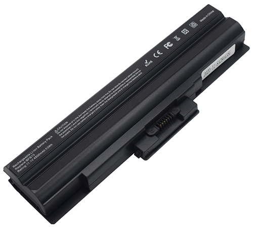 4800mAh Sony Vaio Vgn-fw21z Laptop Battery