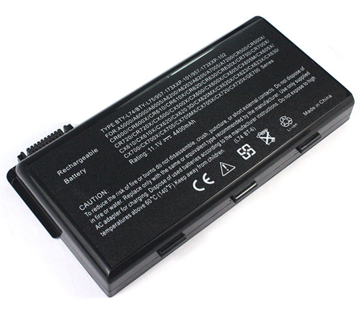 5200mAh/57Wh Msi cx600-272bl Laptop Battery