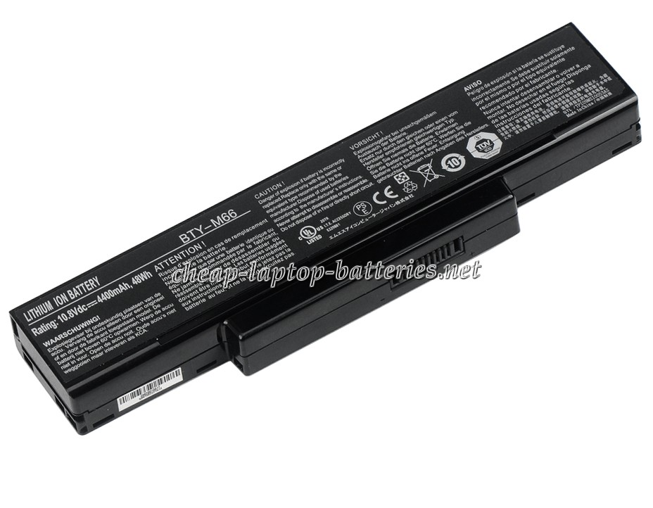4400mAh Msi Ms-1651 Laptop Battery