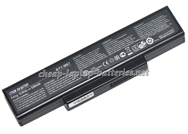 5200mAh Clevo m771cu Laptop Battery