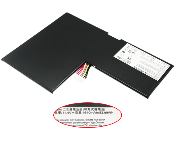 4640mAh Msi gs60 2pc-279xcn Laptop Battery