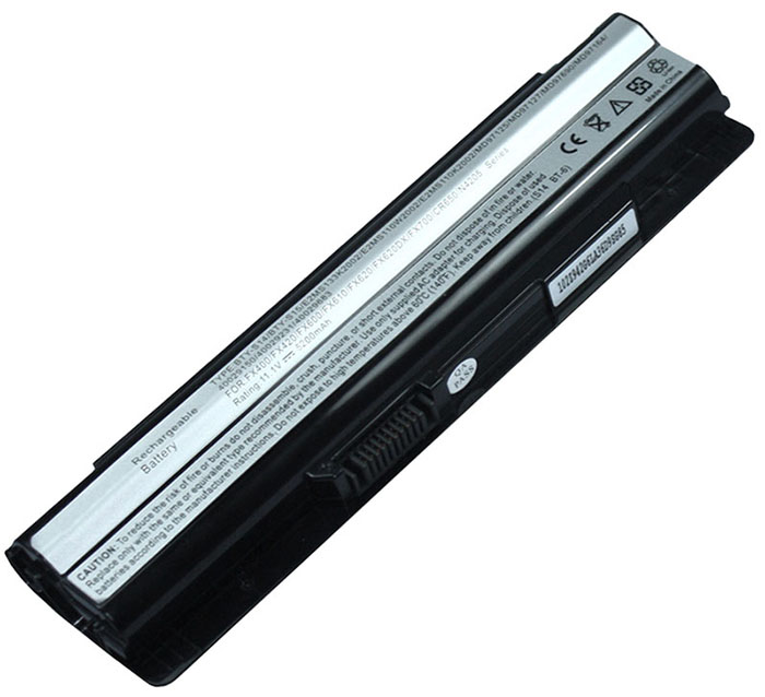 6600mAh Msi fx700-024us Laptop Battery