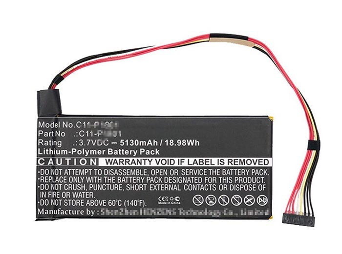 19Wh  Asus c11-p1801 Laptop Battery