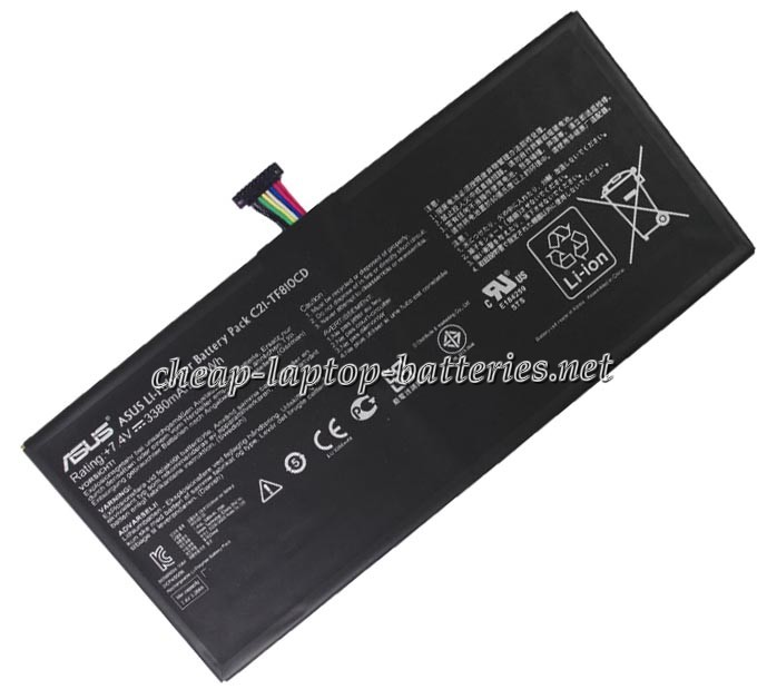 25Wh Asus tf810cd Laptop Battery