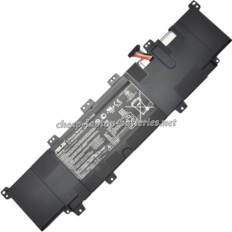 4000 mAh Asus Vivobook s400ei3217ca Laptop Battery