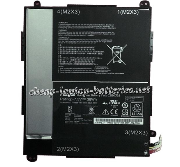 38Wh Asus c21ni326 Laptop Battery