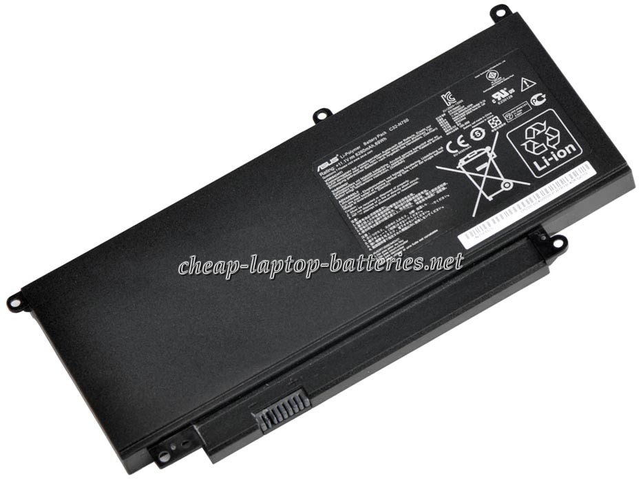 6260mAh Asus c32-n750 Laptop Battery