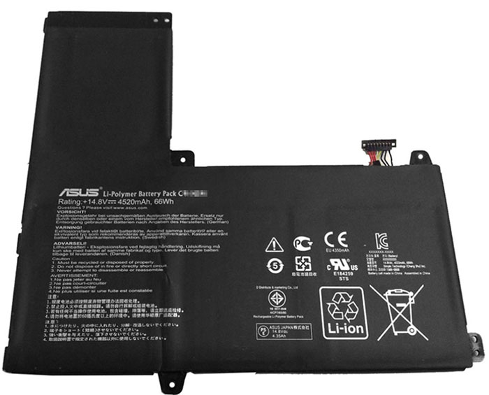 4520mAh Asus q500aus Laptop Battery