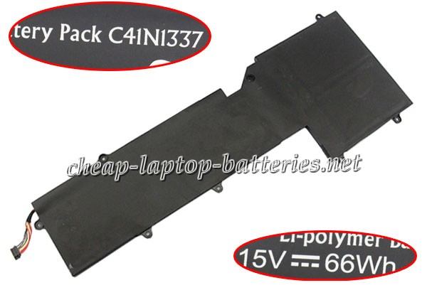 66Wh Asus c41n1337 Laptop Battery