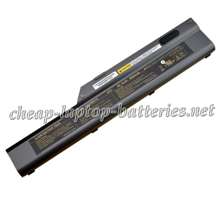 6600mAh Clevo d450t Series Laptop Battery
